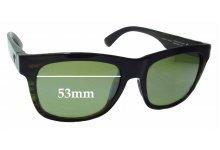 Sunglass Fix Sunglass Replacement Lenses for Maui Jim MJ730 Snapback - 53mm Wide