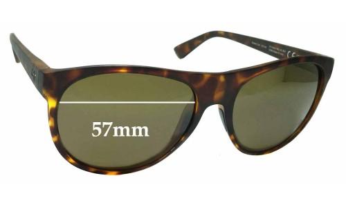 Sunglass Fix Sunglass Replacement Lenses for Maui Jim MJ731 Rising Sun - 57mm Wide