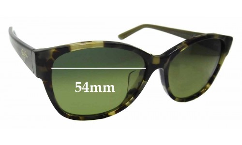Sunglass Fix Sunglass Replacement Lenses for Maui Jim MJ732 Summer Time STG-SG - 54mm Wide