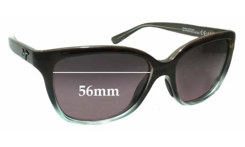 Sunglass Fix Sunglass Replacement Lenses for Maui Jim MJ744 Starfish STG-SG - 56mm wide