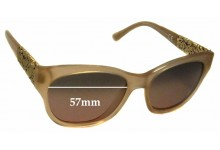 Sunglass Fix Sunglass Replacement Lenses for Maui Jim MJ747 Monstera Leaf - 57mm Wide