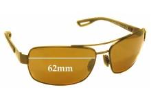 Sunglass Fix Sunglass Replacement Lenses for Maui Jim MJ764 Ola - 62mm Wide