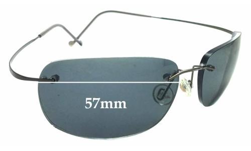 Sunglass Fix Sunglass Replacement Lenses for Maui Jim MJ902 Kapalua RX - 57mm Wide (MJ902 Prescription Frames)