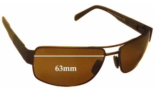 Sunglass Fix Sunglass Replacement Lenses for Maui Jim Ohia MJ703 - 63mm Wide