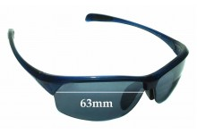 Sunglass Fix Sunglass Replacement Lenses for Maui Jim River Jetty MJ430 - 63mm Wide