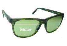 Sunglass Fix Sunglass Replacement Lenses for Maui Jim Tail Slide MJ740 - 54mm Wide