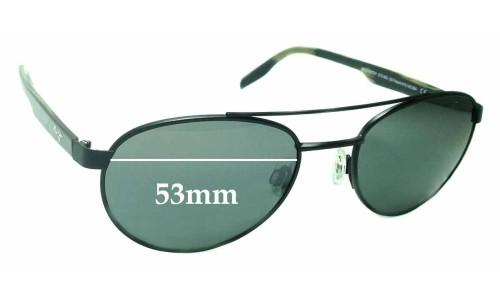Sunglass Fix Sunglass Replacement Lenses for Maui Jim Upcountry STG-BG MJ727 - 53mm wide