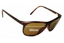Sunglass Fix Sunglass Replacement Lenses for Maui Jim Voyager MJ178 - 60mm Wide