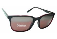 Sunglass Fix Sunglass Replacement Lenses for Maui Jim Wild Coast MJ756 - 56mm Wide