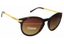 Sunglass Fix Sunglass Replacement Lenses for Michael Kors Adrianna III MK2023 - 53mm Wide