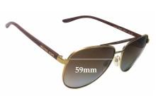 Sunglass Fix Sunglass Replacement Lenses for Michael Kors Hvar MK5007 - 59mm Wide