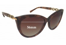 Sunglass Fix Sunglass Replacement Lenses for Michael Kors MK2009 Gstaad - 56mm Wide