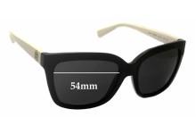 Sunglass Fix Sunglass Replacement Lenses for Michael Kors Sandestin MK6016 - 54mm Wide