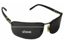 Sunglass Fix Sunglass Replacement Lenses for Montblanc MB 34S - 65mm Wide