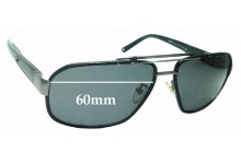 Sunglass Fix Sunglass Replacement Lenses for Montblanc MB 366S - 60mm Wide