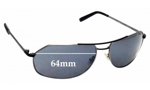 Sunglass Fix Sunglass Replacement Lenses for Morgenthal Frederics Stealth 64 - 64mm Wide