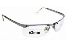 Sunglass Fix Sunglass Replacement Lenses for Moschino M3155-S - 62mm Wide