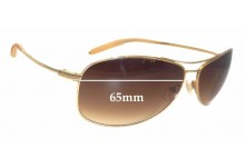 Sunglass Fix Sunglass Replacement Lenses for Mosley Tribes Unknown Model - 65mm Wide