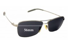 Sunglass Fix Sunglass Replacement Lenses for Mosley Tribes Aviatrix - 56mm Wide