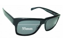 Sunglass Fix Sunglass Replacement Lenses for Mosley Tribes Hillyard 55mm Wide