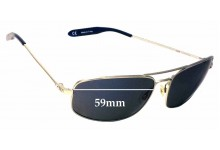 Sunglass Fix Sunglass Replacement Lenses for Mosley Tribes Norte MT2026-S - 59mm Wide