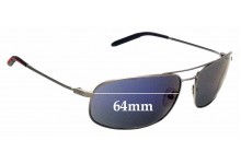 Sunglass Fix Sunglass Replacement Lenses for Mosley Tribes Norte - 64mm Wide