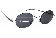 Sunglass Fix Sunglass Replacement Lenses for Mykita + Maison Martin Margiela MMESSE002 - 45mm Wide