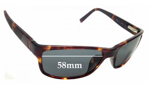 Sunglass Fix Sunglass Replacement Lenses for Nautica N6175S - 58mm Wide