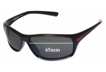 Sunglass Fix Sunglass Replacement Lenses for Nike Adrenaline EVO605 - 65mm Wide