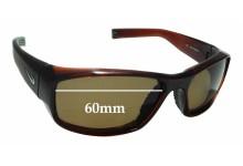 Sunglass Fix Sunglass Replacement Lenses for Nike Brazen EVO571 - 60mm Wide