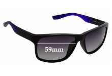 Sunglass Fix Sunglass Replacement Lenses for Nike Cruiser EVO835 - 59mm Wide