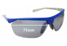 Sunglass Fix Sunglass Replacement Lenses for Nike Tailwind 12 EVO657- 71mm Wide