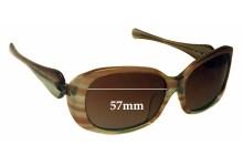 Sunglass Fix Sunglass Replacement Lenses for Oakley Dangerous - 57mm Wide