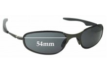 Sunglass Fix Sunglass Replacement Lenses for Oakley A-Wire 2.0 Thick - 54mm Wide
