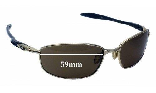 Sunglass Fix Sunglass Replacement Lenses for Oakley Blender OO4059 - 59mm wide