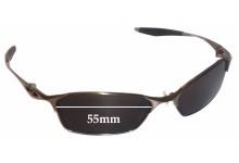Sunglass Fix Sunglass Replacement Lenses for Oakley Bracket 8.1 - 55mm Wide