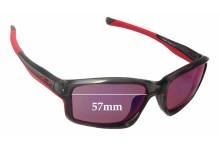 Sunglass Fix Sunglass Replacement Lenses for Oakley Chainlink OO9247 - 57mm Wide