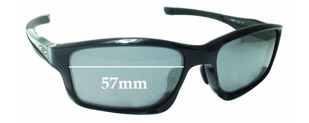 Sunglass Fix Sunglass Replacement Lenses for Oakley Chainlink OO9252 - 57mm Wide