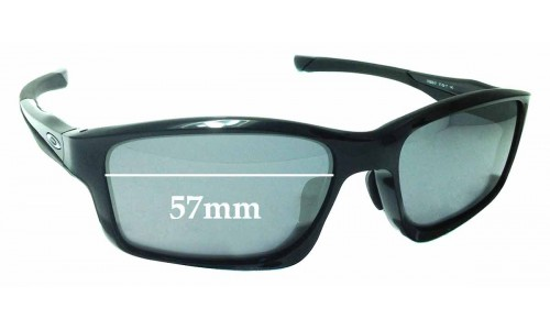 Sunglass Fix Sunglass Replacement Lenses for Oakley Chainlink OO9252 - 57mm wide
