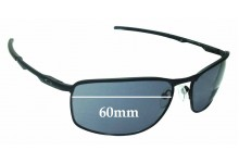 Sunglass Fix Sunglass Replacement Lenses for Oakley Conductor 8 OO4107 - 60mm Wide