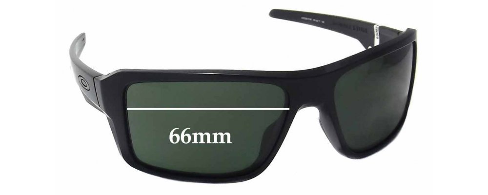 9cd9bff1db5a0 Oakley Double Edge OO9380 Replacement Lenses 60mm by The Sunglass Fix®  Australia