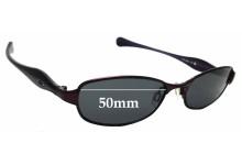 Sunglass Fix Sunglass Replacement Lenses for Oakley Flawless 2.0 - 50mm Wide