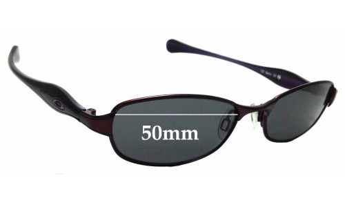 Sunglass Fix Sunglass Replacement Lenses for Oakley Flawless 2.0 - 50mm wide