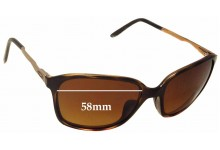 Sunglass Fix Sunglass Replacement Lenses for Oakley Game Changer OO9291 - 58mm Wide