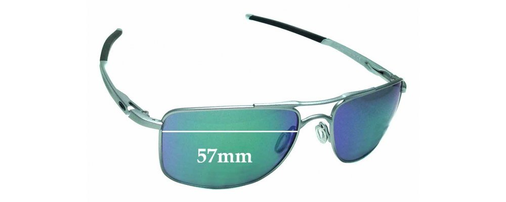 Oakley Gauge 8 >> Oakley Gauge 8 Oo4124 Replacement Lenses X 41 5mm High By The