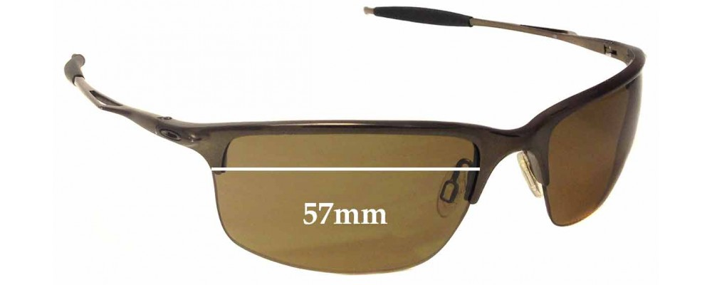 cd6f0a884b Oakley Half Wire 2.0 Sunglass Replacement Lenses - 57mm Wide ...