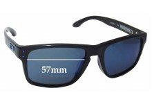 Sunglass Fix Sunglass Replacement Lenses for Oakley Holbrook LX OO2038 - 57mm Wide