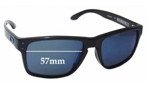 Sunglass Fix Sunglass Replacement Lenses for Oakley OO2038 Holbrook LX - 57mm wide
