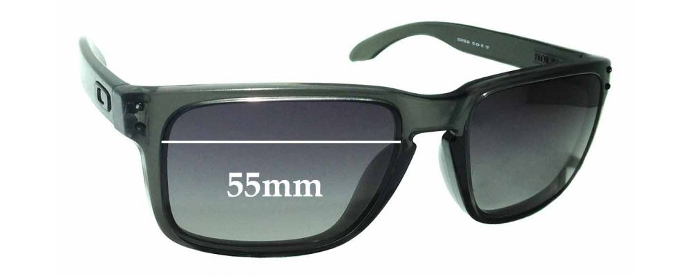 6116a2b2ca Oakley Holbrook OO9102 Replacement Lenses 55mm by The Sunglass Fix®  Australia