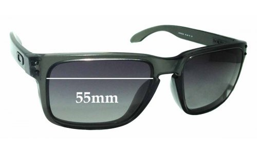 Sunglass Fix Sunglass Replacement Lenses for Oakley Holbrook OO9102 - 55mm Wide